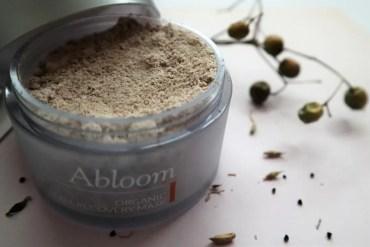 100% natuurlijke huidverzorging van Abloom die je kunt eten