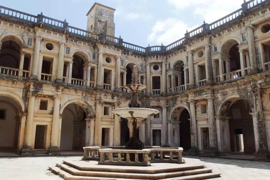 Convento de Cristo in Tomar, Portugal