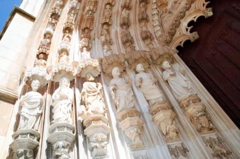 Het klooster van Batalha in Portugal