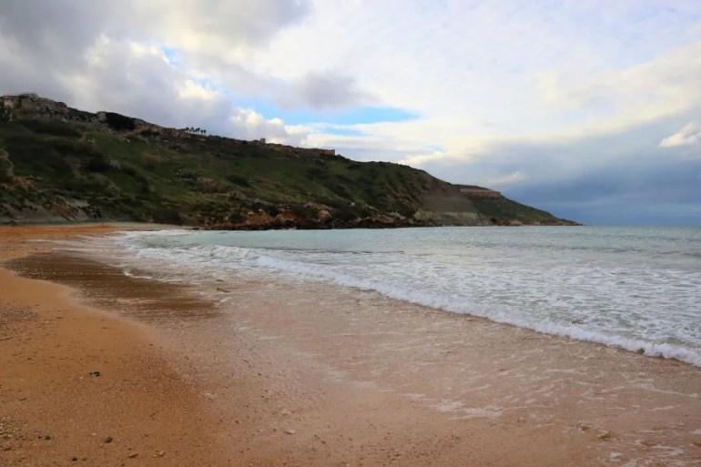 Ramla Bay op Gozo