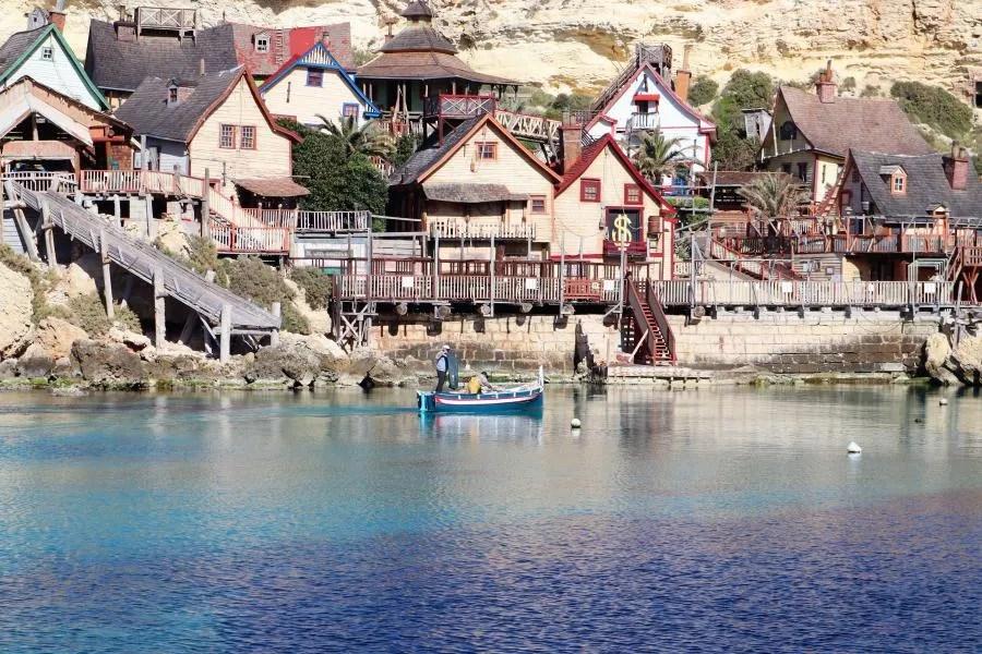 Bezoek Popeye Village op Malta