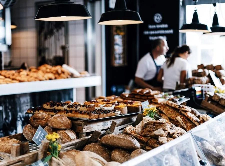 Biologische markt in Amsterdam