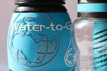Drinkwater filteren en minder plastic verbruiken met de Water-to-Go fles