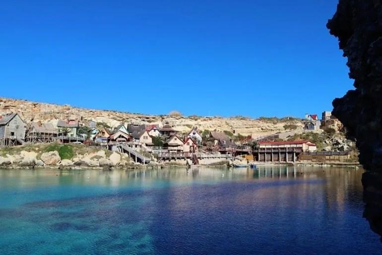 Een bezoek aan Popeye Village op Malta