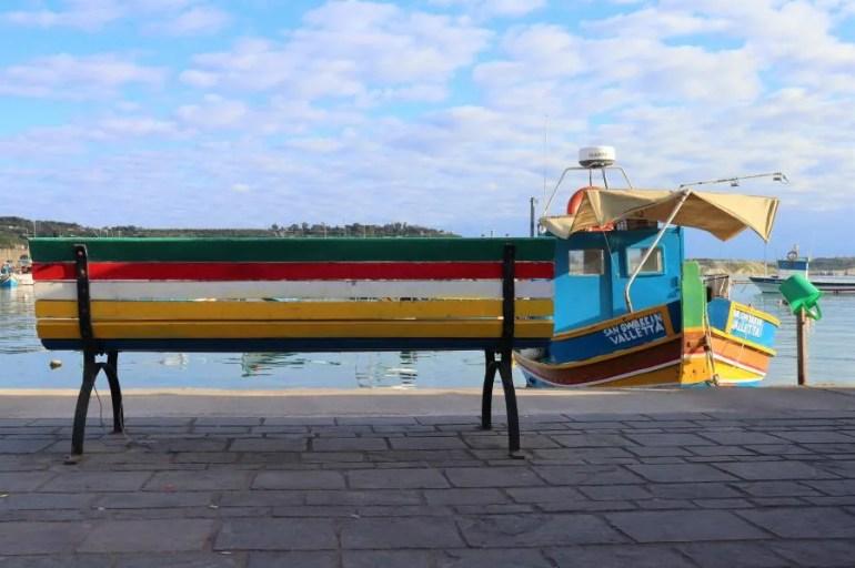 Het vissersdorp Marsaxlokk op Malta