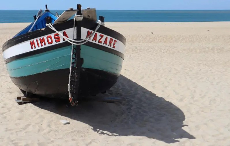 Nazarè in Portugal