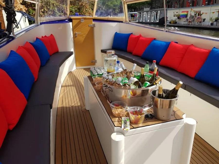 Starboard boottocht in Amsterdam