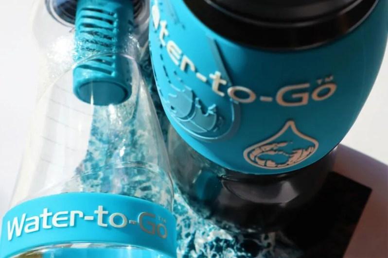 Water-to-Go Fles met filter