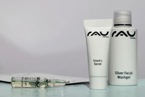 RAU Cosmetics ideale huidverzorging voor op reisRAU Cosmetics ideale huidverzorging voor op reis
