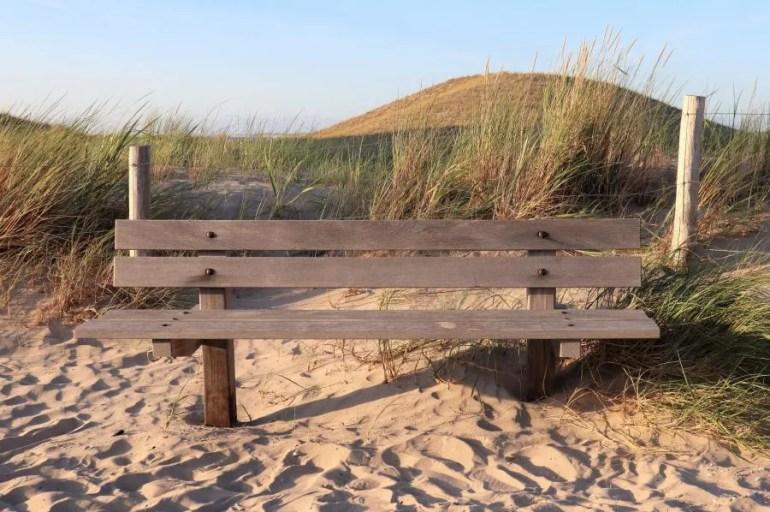 Het strand van Petten aan Zee
