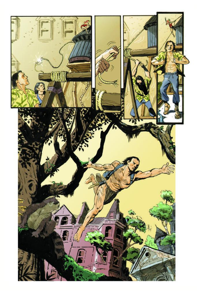 The Once and Future Tarzan #4 Page 2