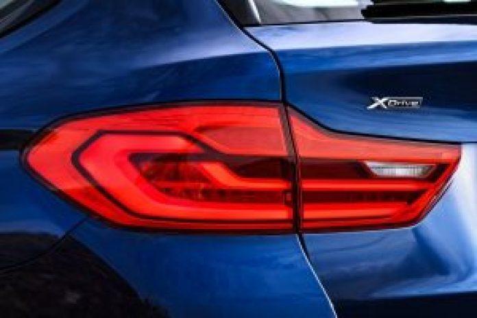 BMW radu 5 Touring zadné svetlo