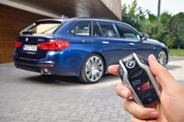 BMW radu 5 Touring kľúč