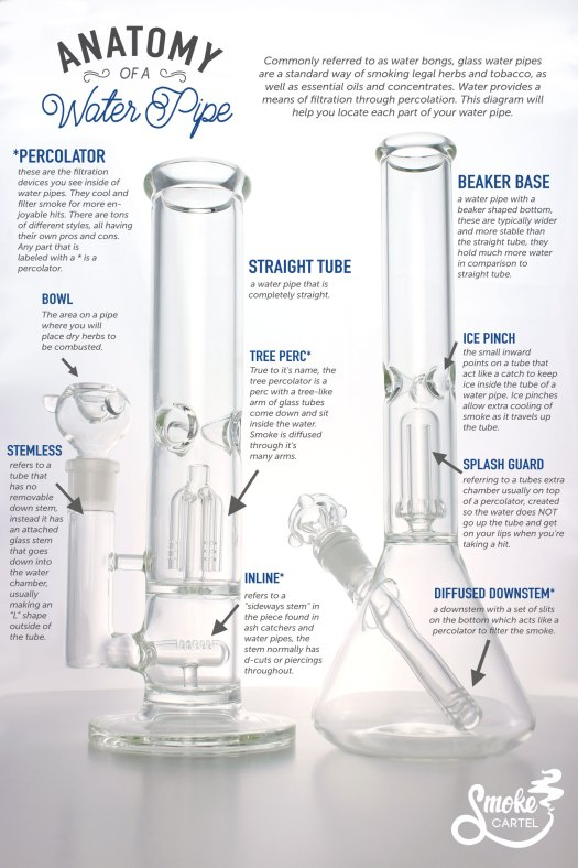 Anatomy of a water pipe