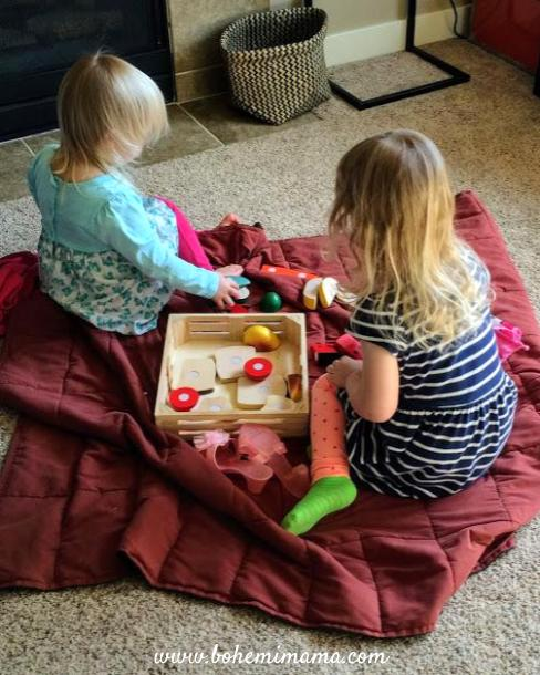 Taking my kids' toys away resulted in fewer tantrums, more creativity, and less stress! Click through to learn how!
