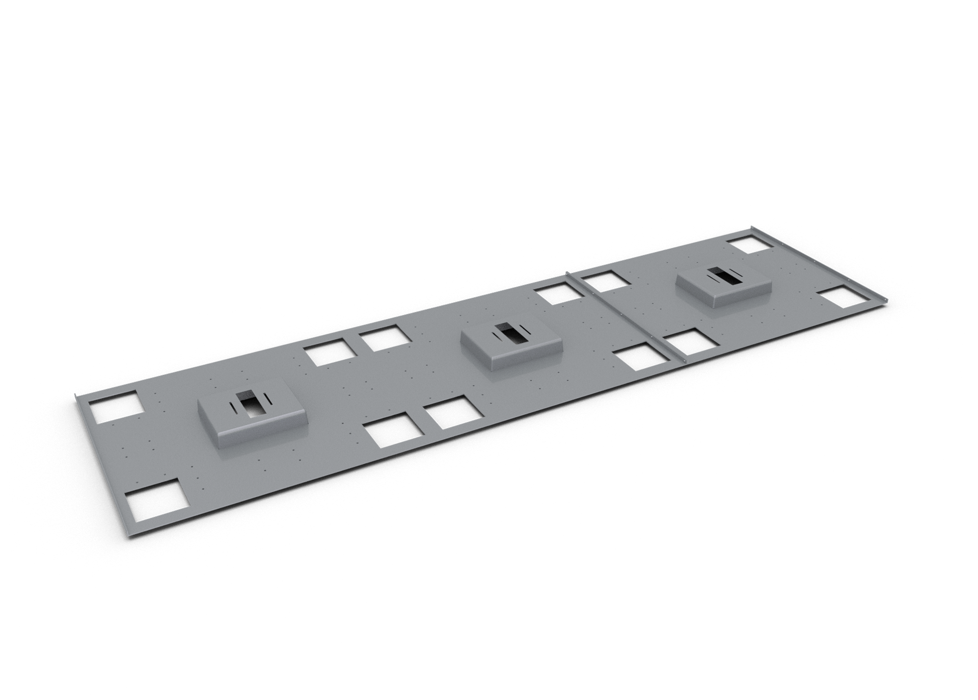 LEM 3-Position Mounting Plate