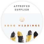 An Approved Boho Weddings Supplier