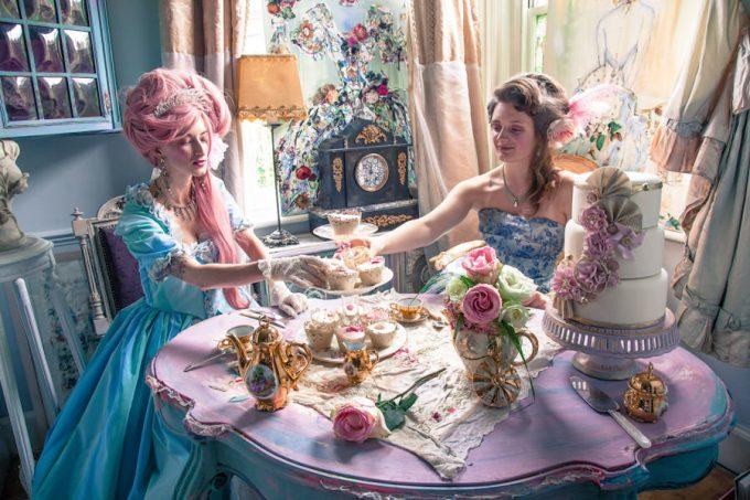Marie Antoinette styled shoot