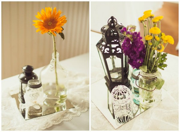 Rustic details and flowers