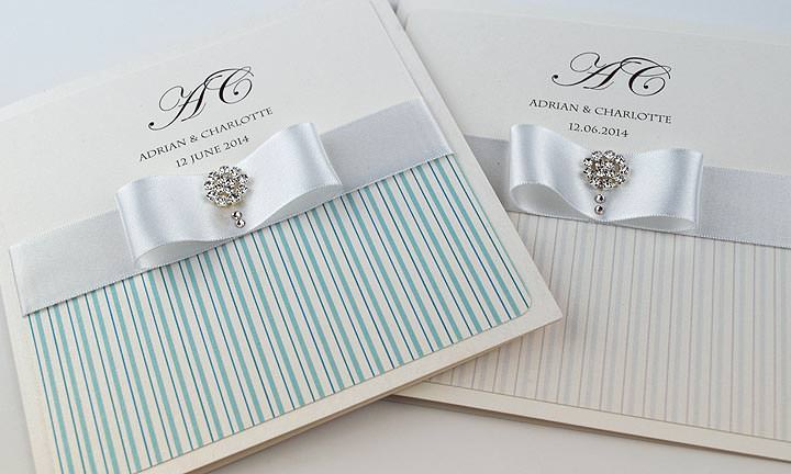 Show And Tell Wedding Invitation Boutique Luxury Bespoke
