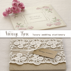 Ine Rose Boho Directory Vine Wedding Invitations