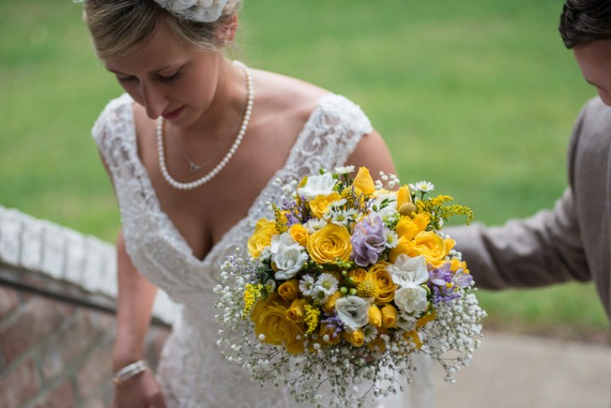 22 Burlap, Sunflowers and Hay Bale Wedding