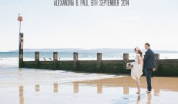 2 Bournemouth Beach Wedding By Emma Lucy Photography