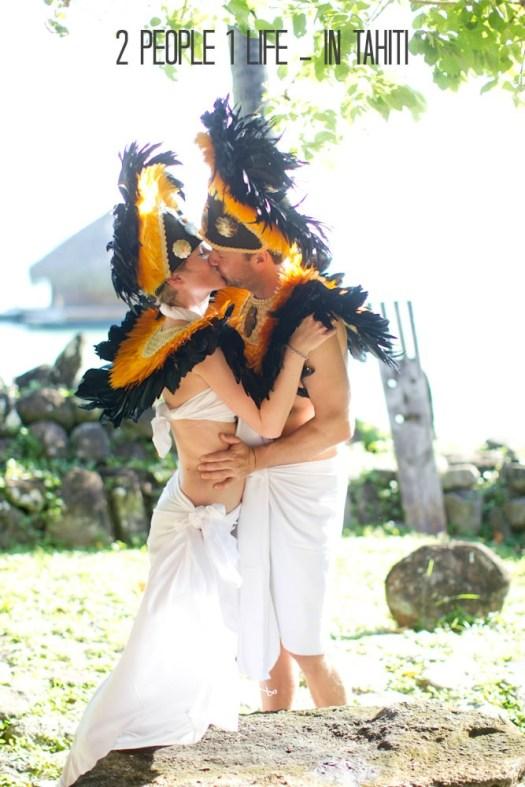 2 people 1 Life: Wedding 43 in Tahiti - Boho Weddings