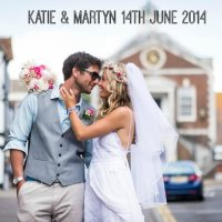 Katie and Martyn's 'Boho Meets Surf' Turquoise and Pink Wedding. By Libra Photographic