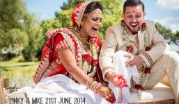 1a Bollywood Beach and Flamingos Wedding By Matt Parry Photography