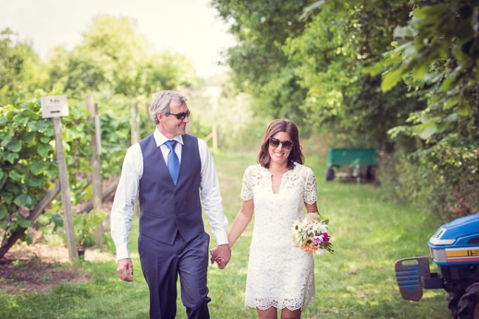 Homespun Wedding at Frithsden Vineyard