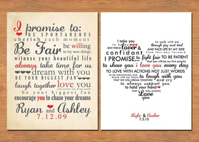 Diary of a Boho Bride - Kerry and Doug, Entry 6: The Wedding Vows