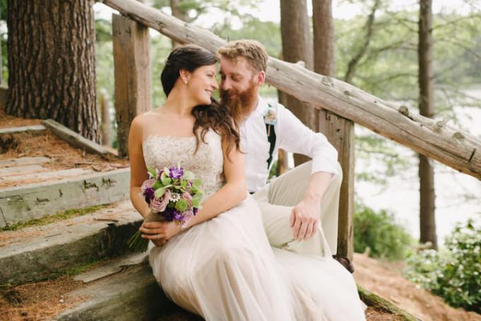 1 Camp Wedding in Massachusetts By Carlyn K Photography