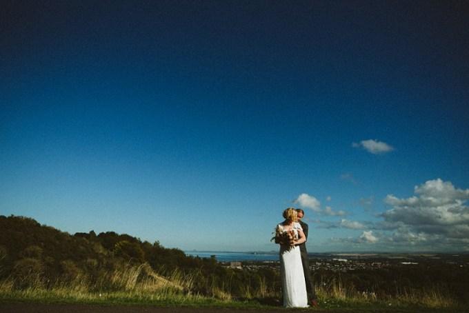 Laura and Martin's Food Loving Autumnul Edinburgh Wedding By Babb Photo