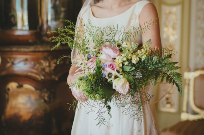 Bibi and Adam's Bournemouth Art Gallery Wedding with a Vintage Wedding Dress by Paul Underhill