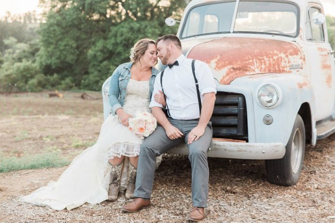 1 Rustic Outdoor California Wedding by Stevie Dee Photography