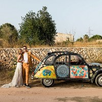 Miles and Emily's 'Ibiza Chic' Beautiful VillaWedding by Eclection Photography