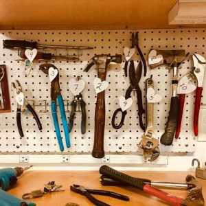Dlaczego bambus narzędzia na ścianie