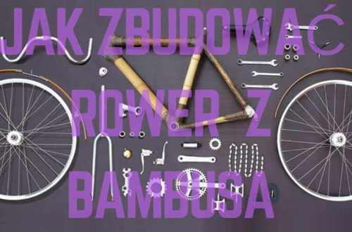 jak zbudować rower z bambusa części wyróżniający