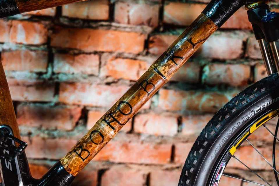 rowerowej z bambusa efekt końcowy rama z bambusa 01