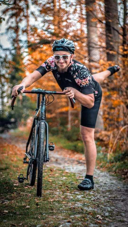 100 km na rowerze wsiadanie na rower