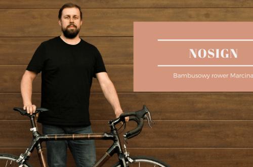 Bambusowy rower Marcina wyrozniajacy