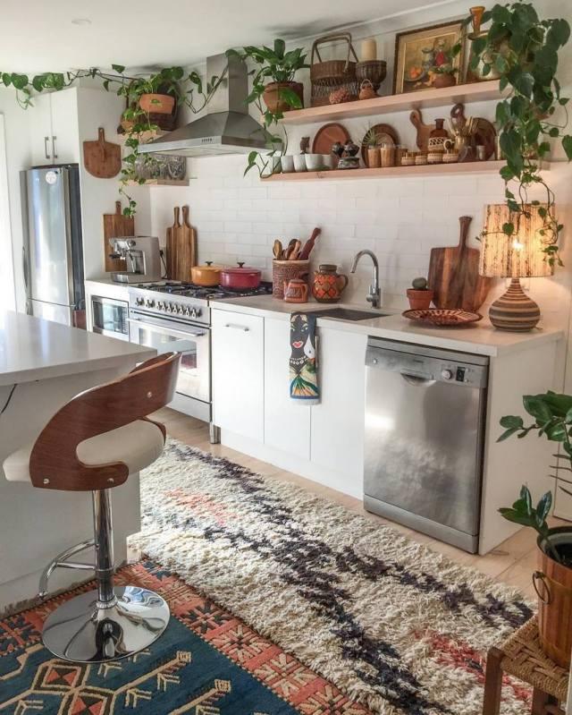 Bohemian Style Home Decor Ideas (23)