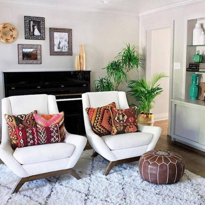 bohemian home decor ideas (39)