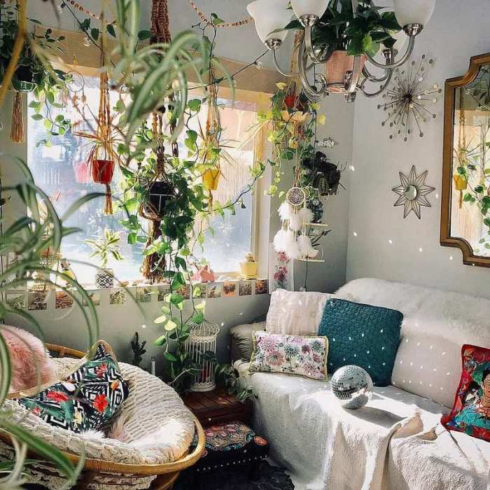 bohemian home decor ideas (5)