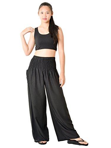 ef117f9ef2c78 Orient Trail Women s Aztec Tribal Design Yoga Wide Leg Harem Pants US Size  0-22