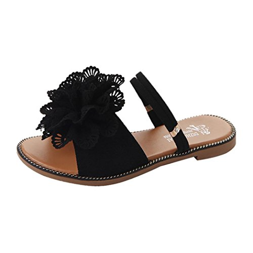 41058635d12e DENER Women Girls Ladies Summer Flat Slippers