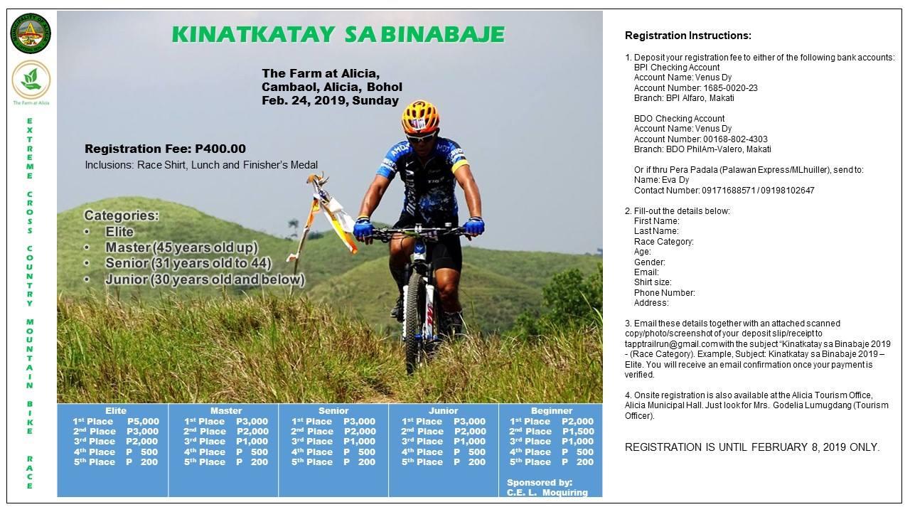 3affd237467 Alicia s 3rd Annual Trail Run and Mountain Bike Race - Bohol Tourism