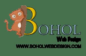 Bohol Philippines web design logo