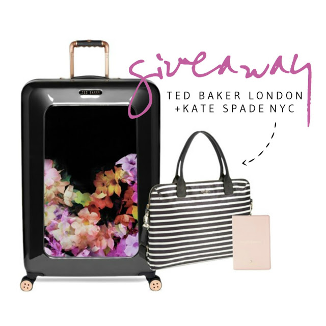 TED BAKER LONDON + KATE SPADE GIVEAWAY!!!